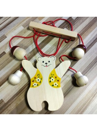 Богородская игрушка Медведь Верхолаз, Биланик