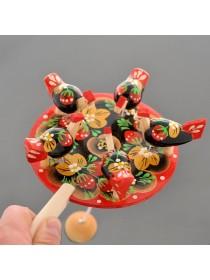 Богородская игрушка Курочки Биланик