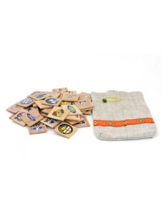 Мемори «Авто эмблемы» в мешочке Царицынская игрушка (Радуга Кидс) CI-ME006