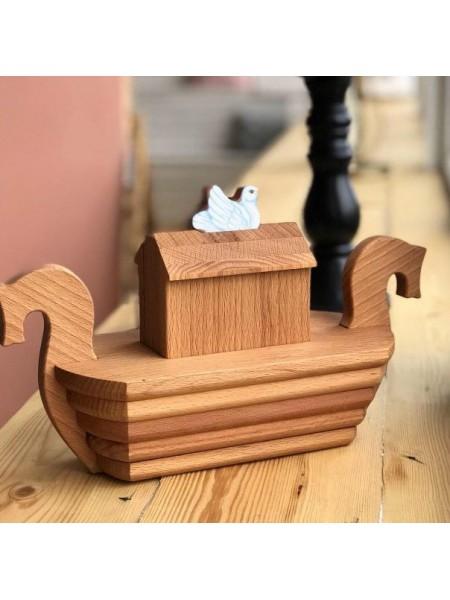 Деревянный пазл - конструктор «Ковчег» Царицынская игрушка CI-DK014