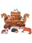 Деревянный пазл - конструктор «Ковчег» Развивающая игрушка купить