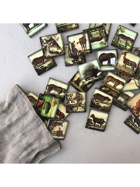 Мемори «Зоопарк» в мешочке Царицынская игрушка (Радуга Кидс) CI-ME014