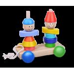 Деревянные игрушки каталки купить в интернет магазине Умный Слон