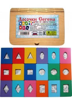Досочки Сегена (крашеные) Smile Decor A007