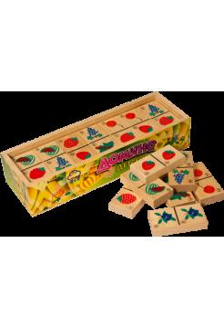Развивающая игра  «Домино детское, Ягоды» Пелси И692