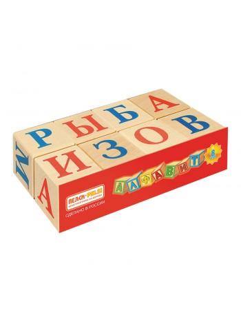Кубики Алфавит, Пелси ПИ667 8 шт. купить