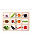 Деревянная Рамка-вкладыш - Секретики Овощи купить