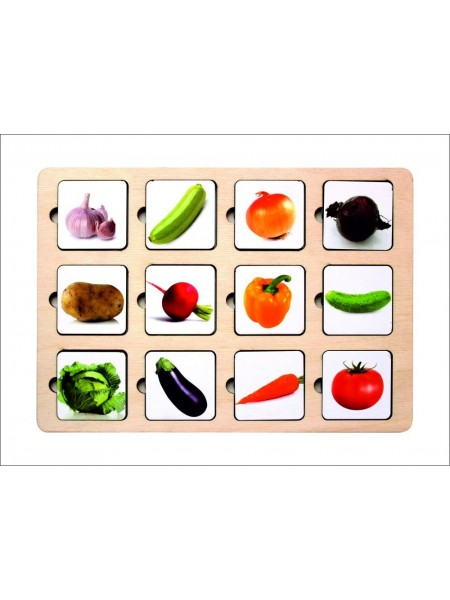 Рамка-вкладыш - Секретики Овощи
