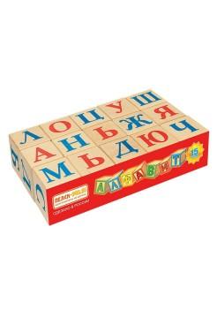Кубики Алфавит, 15 шт. Пелси И669