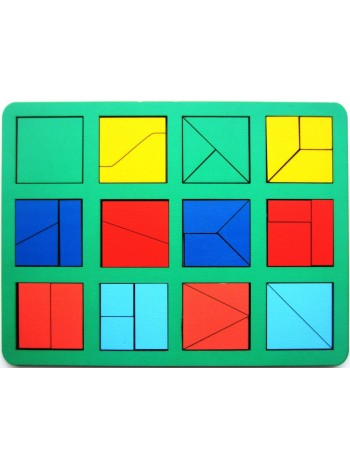 """""""Сложи квадрат"""" Б.П.Никитин, 1 уровень (макси) купить"""