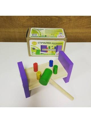 Деревянная стучалка «Малышка», Краснокамская игрушка