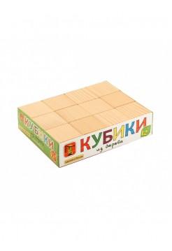 Кубики Неокрашенные, 12 шт.