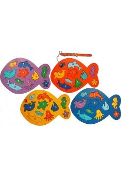 """Игра """"Рыбалка"""" магнитная, с рыбками и удочкой"""