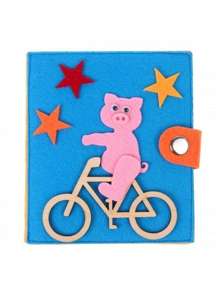 Кошелек Велосипед, Smile Decor Ф019