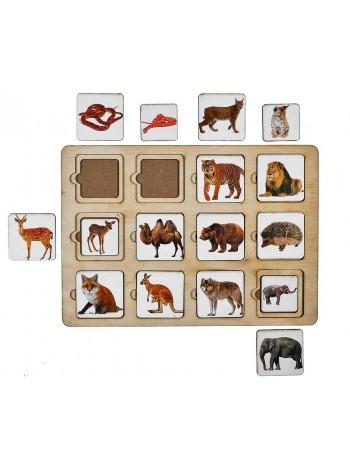 Игра Секретики Зоопарк, Smile Decor П203 купить