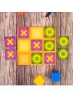 Логическая игрушка крестики-нолики магнитная купить