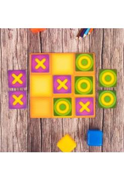 Настольная игра крестики-нолики, магнитная