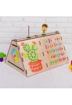 Бизиборд Обучайка, Мастер игрушек IG0253