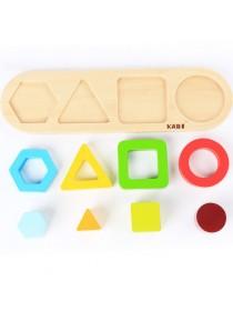 Сортер логический геометрические фигуры, 8 элементов