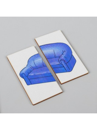 Картинки-половинки Мебель, Smile decor П207