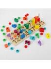 Пирамидка-сортер разложи по цветам купить