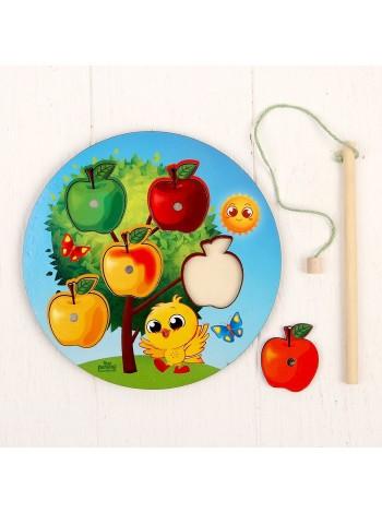 """Магнитная рыбалка """"Деревце с яблоками"""" купить"""