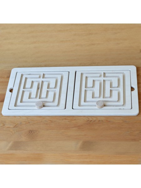 Межполушарная доска Лабиринт со съемными вкладками, Радуга кидс