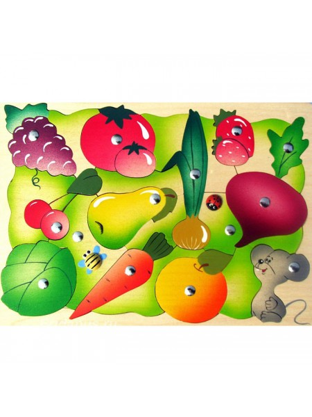 Магнитная мозаика Во саду ли, в огороде, Крона (143-040)