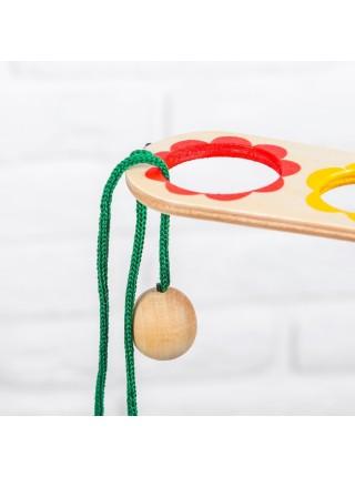 Игра Поймай мяч, тройной RNToys Д-128