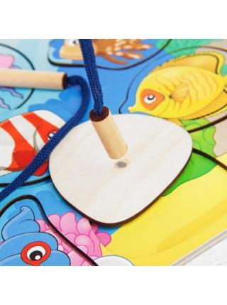 Рамка-вкладыш Магнитная рыбалка - Океан, Мастер игрушек IG0081