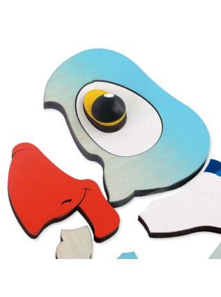 "Мозаика-пазл ""Попугай"", Крона 143-017"