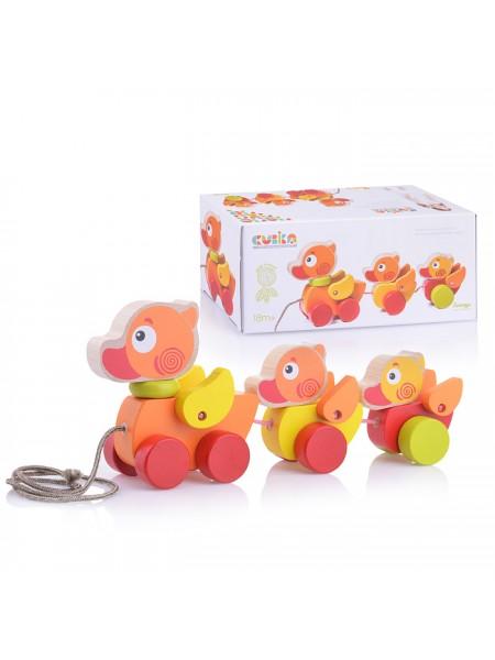 """Каталка-игрушка """"Уточки"""" Cubika (13722)"""