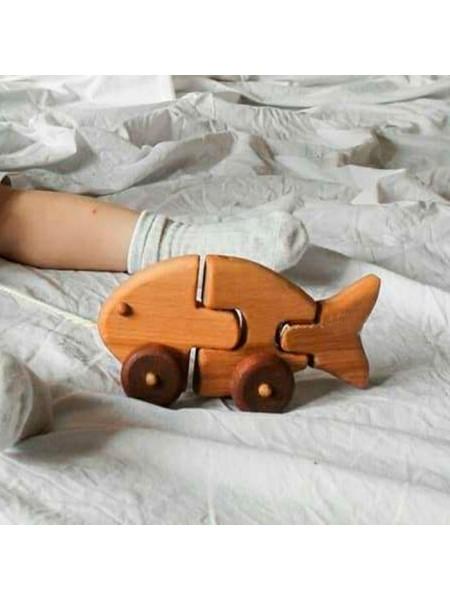 Каталка-переломка Рыба моей мечты, Леснушки