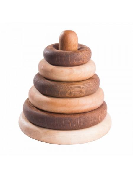 Пирамидка круглая, дуб-клен (Натуральное дерево)