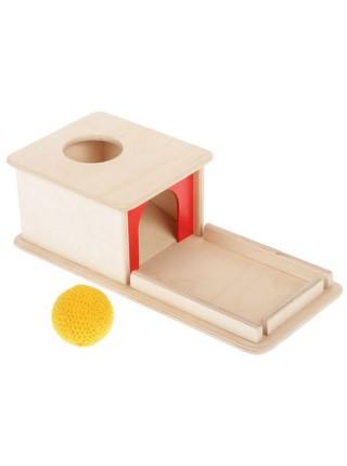 Коробочка с шариком по методике Монтессори