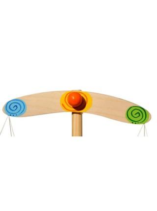 Деревянные детские весы с гирьками Вальда, V0202