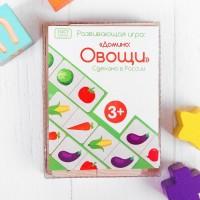 Развивающая игра «Домино: Овощи», Мастер игрушек IG0190