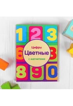 """Набор цифр магнитные """"Цветные"""" Мастер игрушек IG0198"""