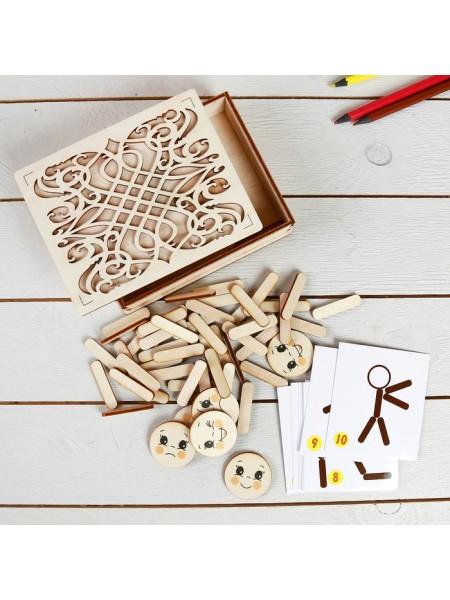Мозаика из палочек Человечки, Smile Decor, П705