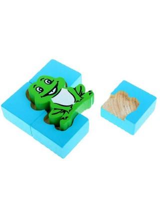 Рамка-вкладыш Томик Лягушка (1-04) , элементов: 5 шт.
