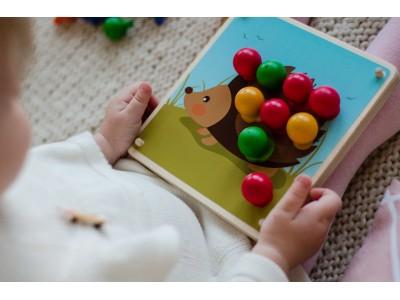 <Игра Умный ежик магазин, варианты игр с деревянными игрушками