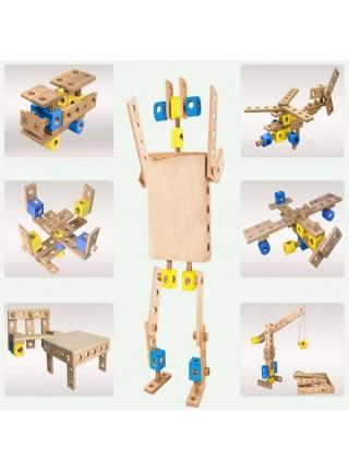 Конструктор Трансформер, 38 деталей, Престиж-игрушка К2380