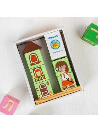 Кубики на палочке Ёжик, Томик 4545-4