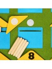 Дидактический коврик Домики-считалки купить