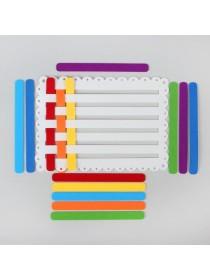 Коврик - плетенка из фетра, Smile-Decor Ф300