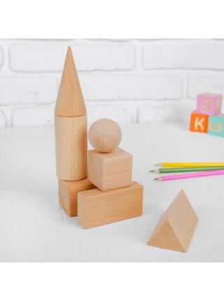 Набор геометрических тел, 7 дет. Престиж игрушка К2121
