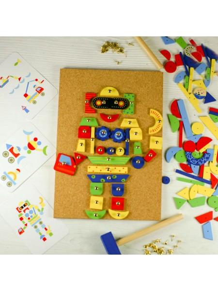 Развивающая игра Чудо-молоток Step puzzle Мозаика-конструктор
