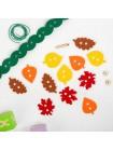 Шнурока Венок из листьев, Smile Decor Ф401 купить