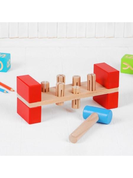 Стучалка Гвозди-перевёртыши, Престиж игрушка ПЕ1101