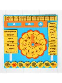 Коврик из фетра Календарь, Smile Decor, Ф263